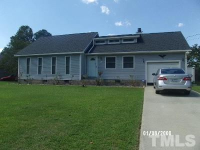Dunn NC Single Family Home For Sale: $113,900