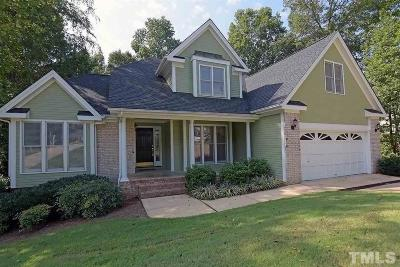 Cary Single Family Home Contingent: 102 Kensbury Circle
