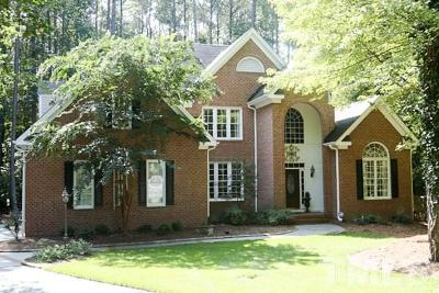 Raleigh Single Family Home For Sale: 5800 Stone Canyon Court