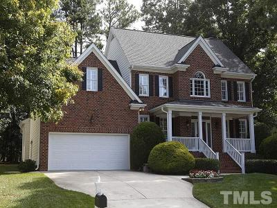 Cary Single Family Home Contingent: 104 Barriedale Circle