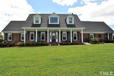 Granville County Single Family Home For Sale: 2624 Bennett Road