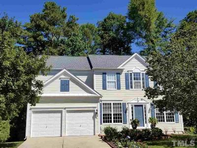 Cary Single Family Home Contingent: 408 Sherwood Forest Place