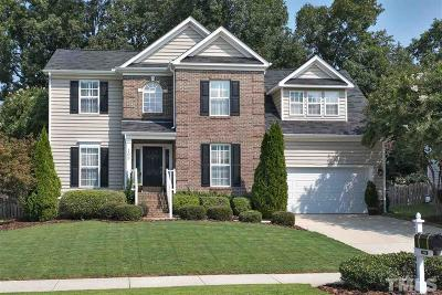 Cary Single Family Home Contingent: 109 Stablegate Drive