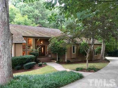 Raleigh Single Family Home For Sale: 8801 Highhill Road