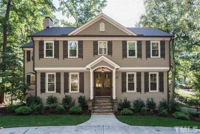 Cary Single Family Home Contingent: 505 Annandale Drive