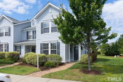 Cary Townhouse For Sale: 262 Duck Mill Circle
