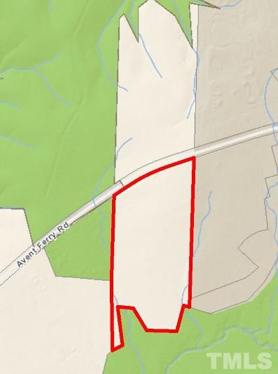 Holly Springs Residential Lots & Land For Sale: 3020 Avent Ferry Road
