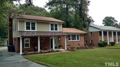 Raleigh Single Family Home For Sale: 222 Westridge Drive