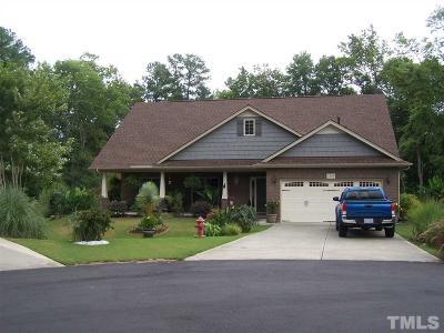 Creedmoor Single Family Home Pending: 1218 Hunter Court