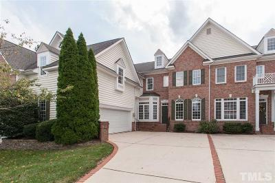 Wakefield Townhouse For Sale: 2404 Carriage Oaks Drive