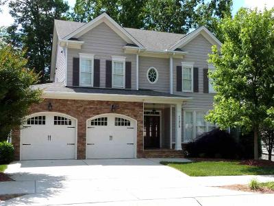 Raleigh Single Family Home For Sale: 11315 Oakcroft Drive
