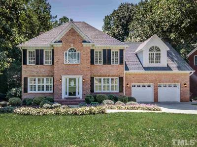 Cary Single Family Home Contingent: 115 W Camden Forest Drive