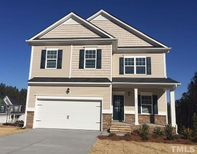Knolls At The Neuse Single Family Home For Sale: 270 Cascade Knoll Drive #lot 22