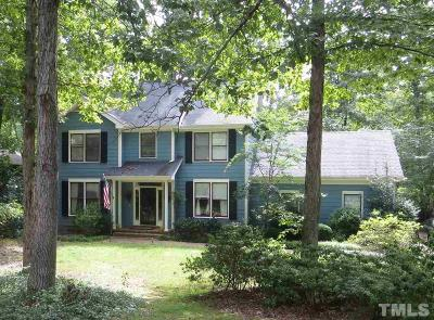 Chapel Hill Single Family Home Contingent: 6715 Glen Forest Drive