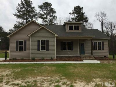 Lillington NC Single Family Home For Sale: $202,150