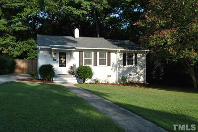 Raleigh Single Family Home For Sale: 917 Culpepper Lane