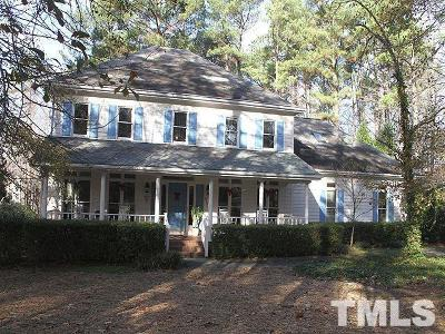 Fuquay Varina Single Family Home For Sale: 4828 Kingpost Drive