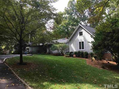 Chapel Hill Single Family Home For Sale: 2620 New Hope Church Road