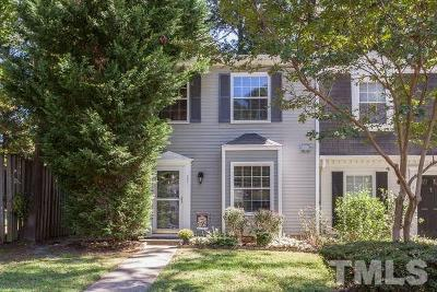 Cary Townhouse For Sale: 209 Rosebrooks Drive