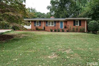 Raleigh Single Family Home Contingent: 306 W Drewry Lane