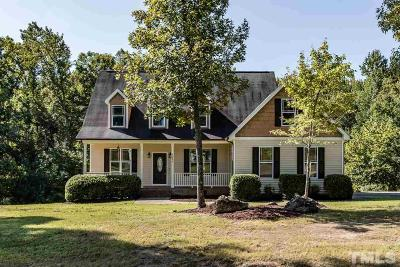 Franklinton Single Family Home Contingent: 3680 Summer Springs Drive