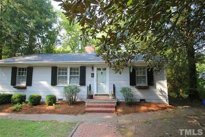 Chapel Hill Single Family Home For Sale: 209 Hill Street