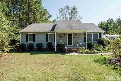 Wake Forest Single Family Home Contingent: 7924 Ligon Mill Road