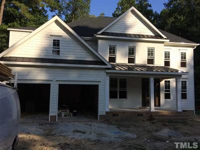 Raleigh Single Family Home For Sale: 7804 Blackwing Court