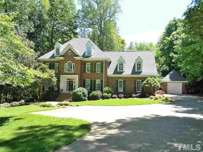 Raleigh Single Family Home Contingent: 10500 Tredwood Drive