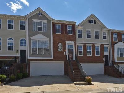 Morrisville Townhouse For Sale: 204 Kirkeenan Circle