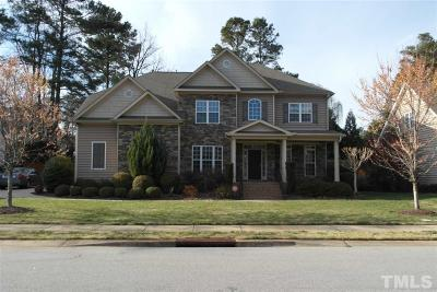 Raleigh Single Family Home Contingent: 4208 Russling Leaf Lane
