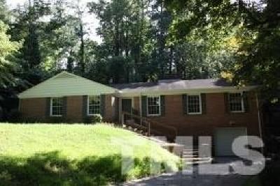 Raleigh Single Family Home For Sale: 210 Perquimans Drive