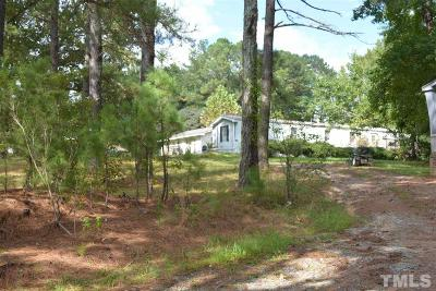 Chatham County Residential Lots & Land For Sale: 365 Hamlet Chapel Road