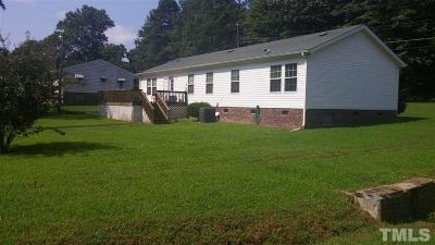Franklinton Single Family Home For Sale: 220 N Cheatham Street