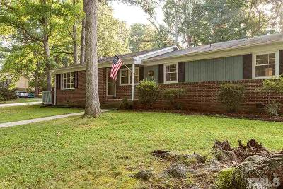 Durham Single Family Home Pending: 4918 Heritage Drive