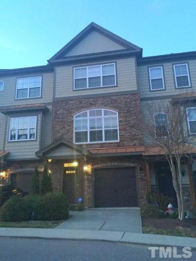 Raleigh Townhouse Contingent: 2615 Stewart Pines Drive
