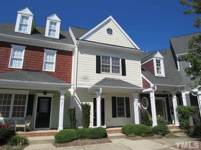 Apex Townhouse Contingent: 120 Old Grove Lane