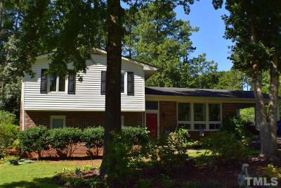 Raleigh Single Family Home For Sale: 7705 Leesville Road