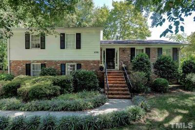 Raleigh Single Family Home For Sale: 5300 Kirkwood Court