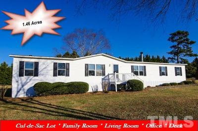 Johnston County Manufactured Home For Sale: 120 Wade Drive