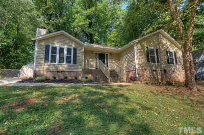 Garner Single Family Home Contingent: 1506 Harth Drive