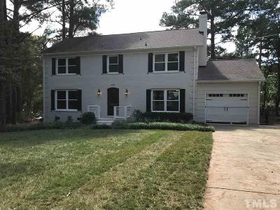 Raleigh Single Family Home Contingent: 4901 Stonehill Drive