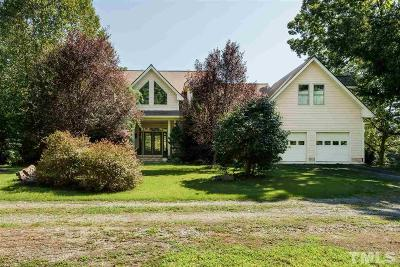 Pittsboro Single Family Home For Sale: 4560 Old Graham Road