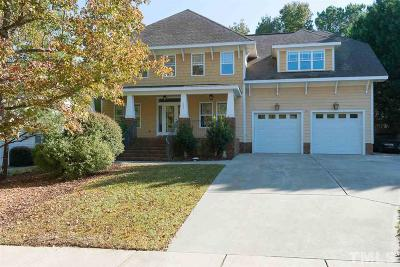 Holly Springs Single Family Home For Sale: 105 Cobblepoint Way
