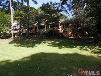Raleigh Single Family Home For Sale: 4020 Brewster Drive