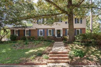 Raleigh Single Family Home For Sale: 4401 Ryegate