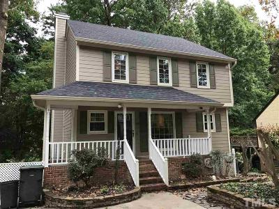 Raleigh Single Family Home For Sale: 1321 Greenside Drive
