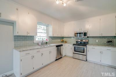 Raleigh Single Family Home For Sale: 1020 Harvey Johnson Road