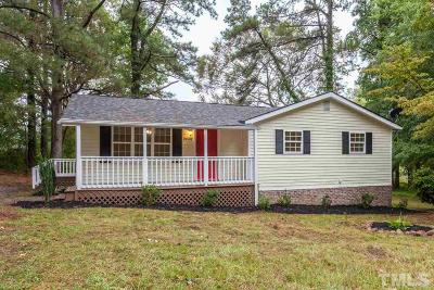 Raleigh Single Family Home For Sale: 10601 Fanny Brown Road