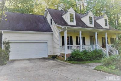 Raleigh Single Family Home For Sale: 618 Van Thomas Drive